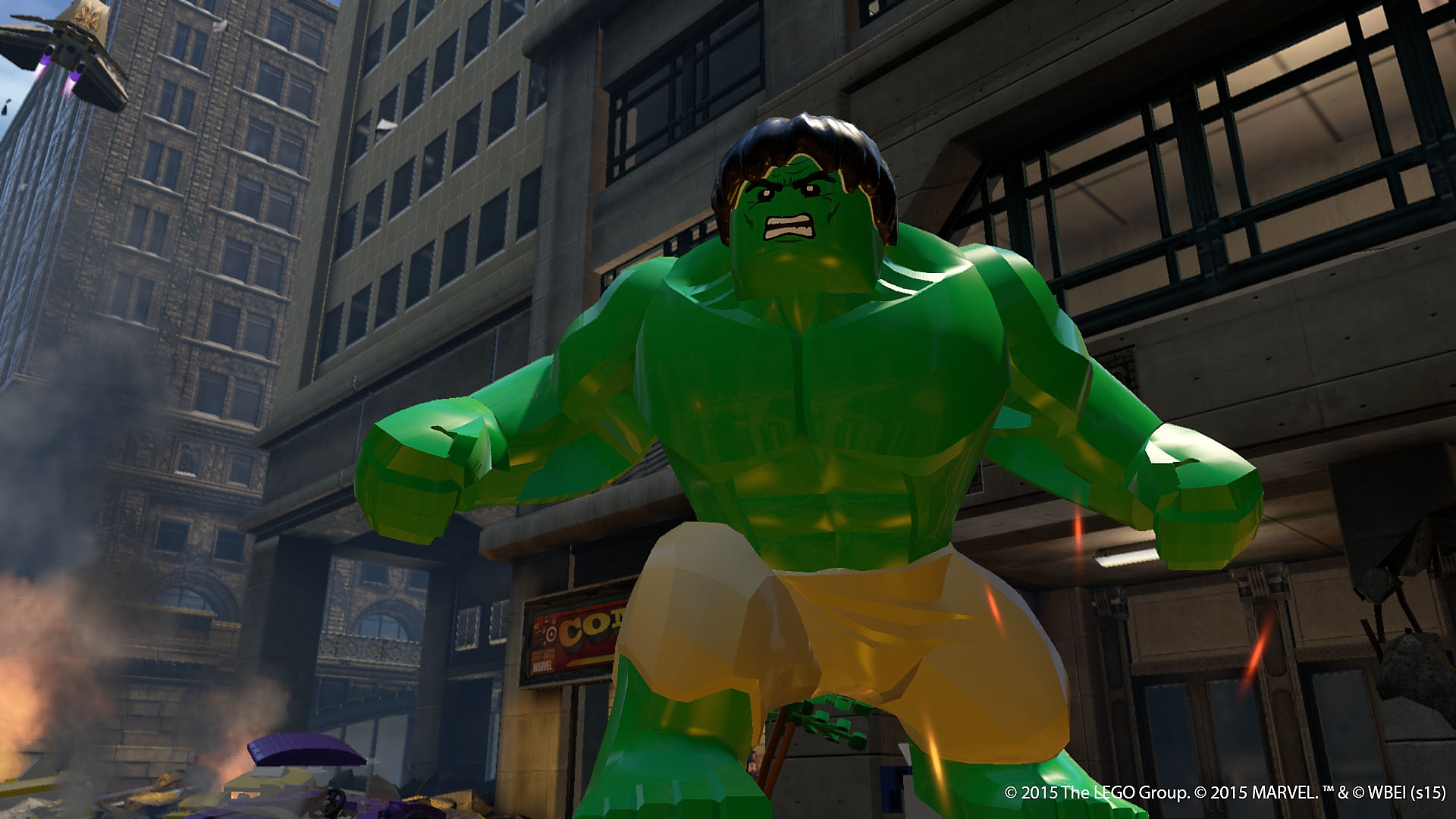 LEGO マーベル アベンジャーズ - Gallery Screenshot 5