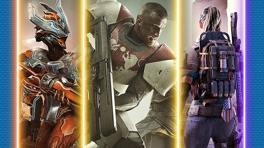 Best looter shooters on PS4 promotional key art