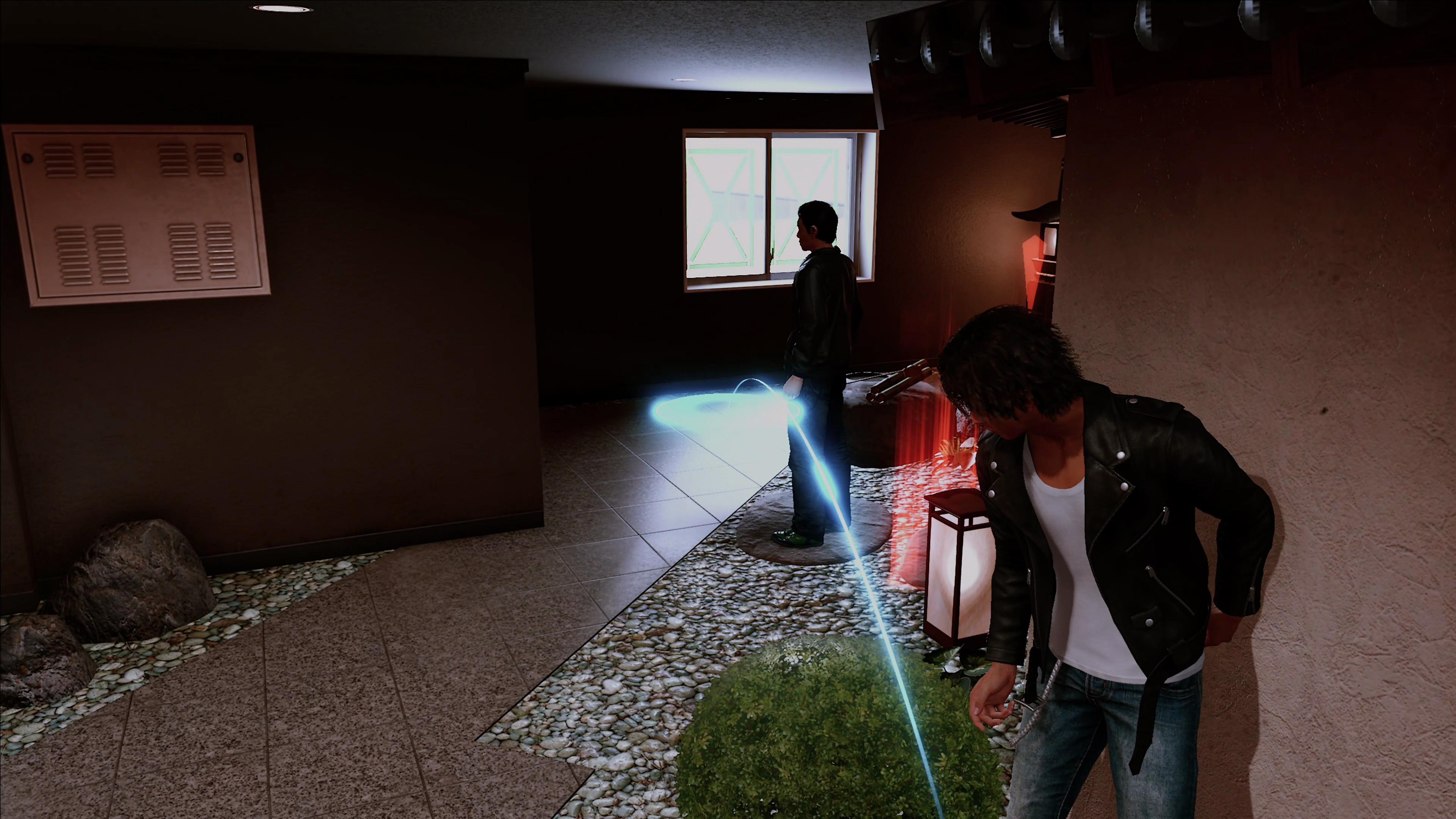 Lost Judgment - Action d'enquête - Capture d'écran des éléments principaux