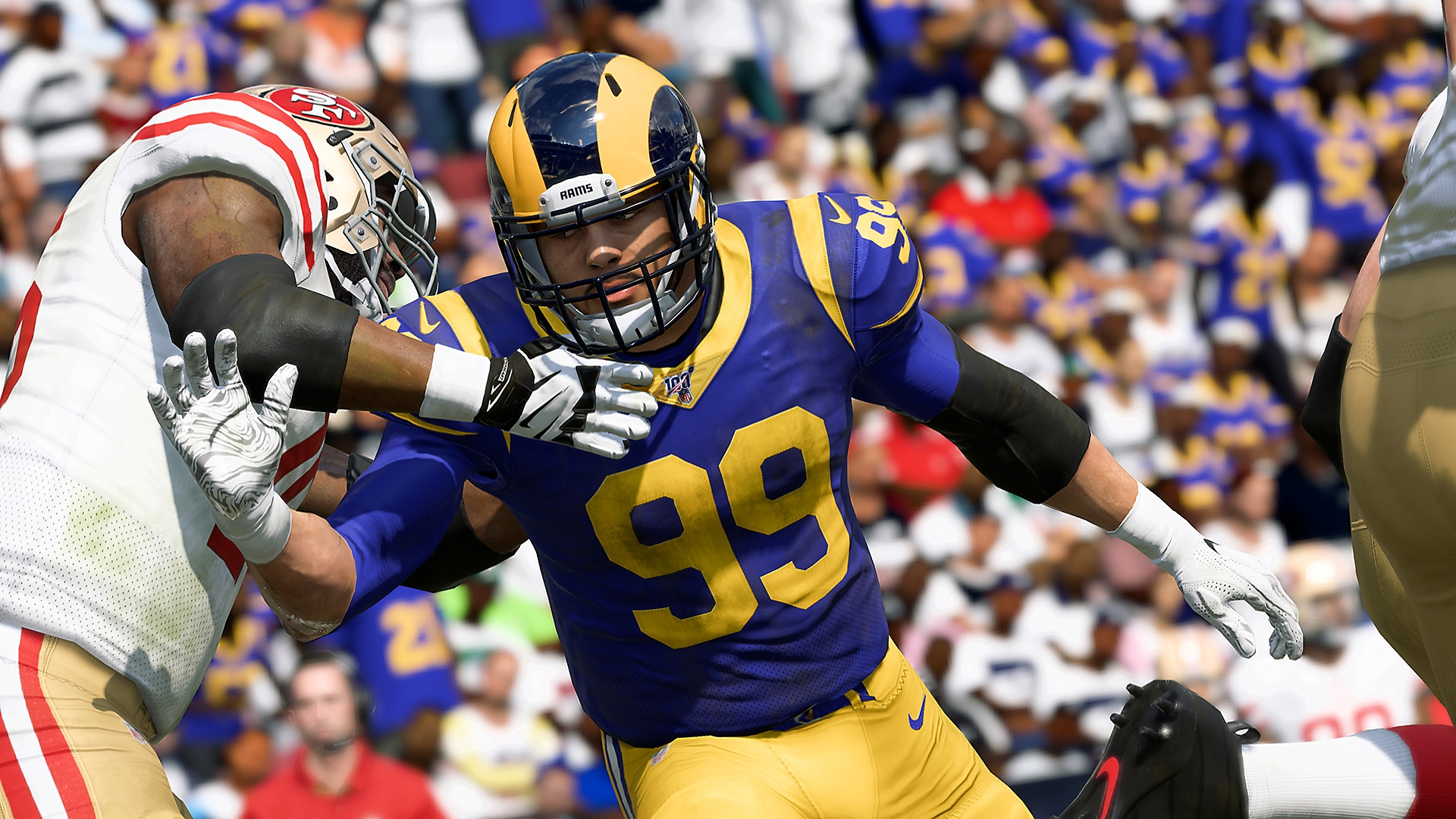 Madden NFL 20 – Grafika sekce Face of the Franchise