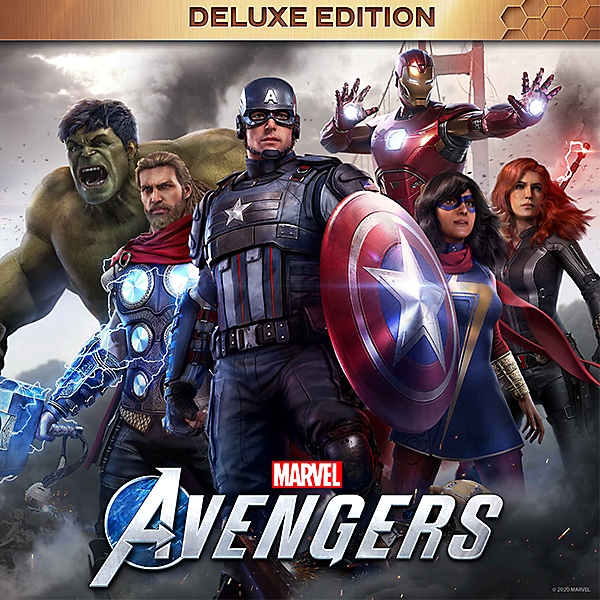 Marvel's Avengers Deluxe Edition pack shot