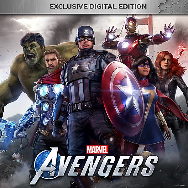 Marvel's Avengers Exclusive Digital Edition Verpackung