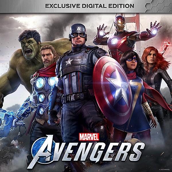 لقطة حزمة Exclusive Digital Edition للعبة Marvel's Avengers