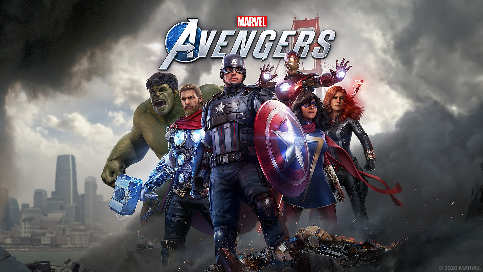 Marvel's Avengers – Key Art