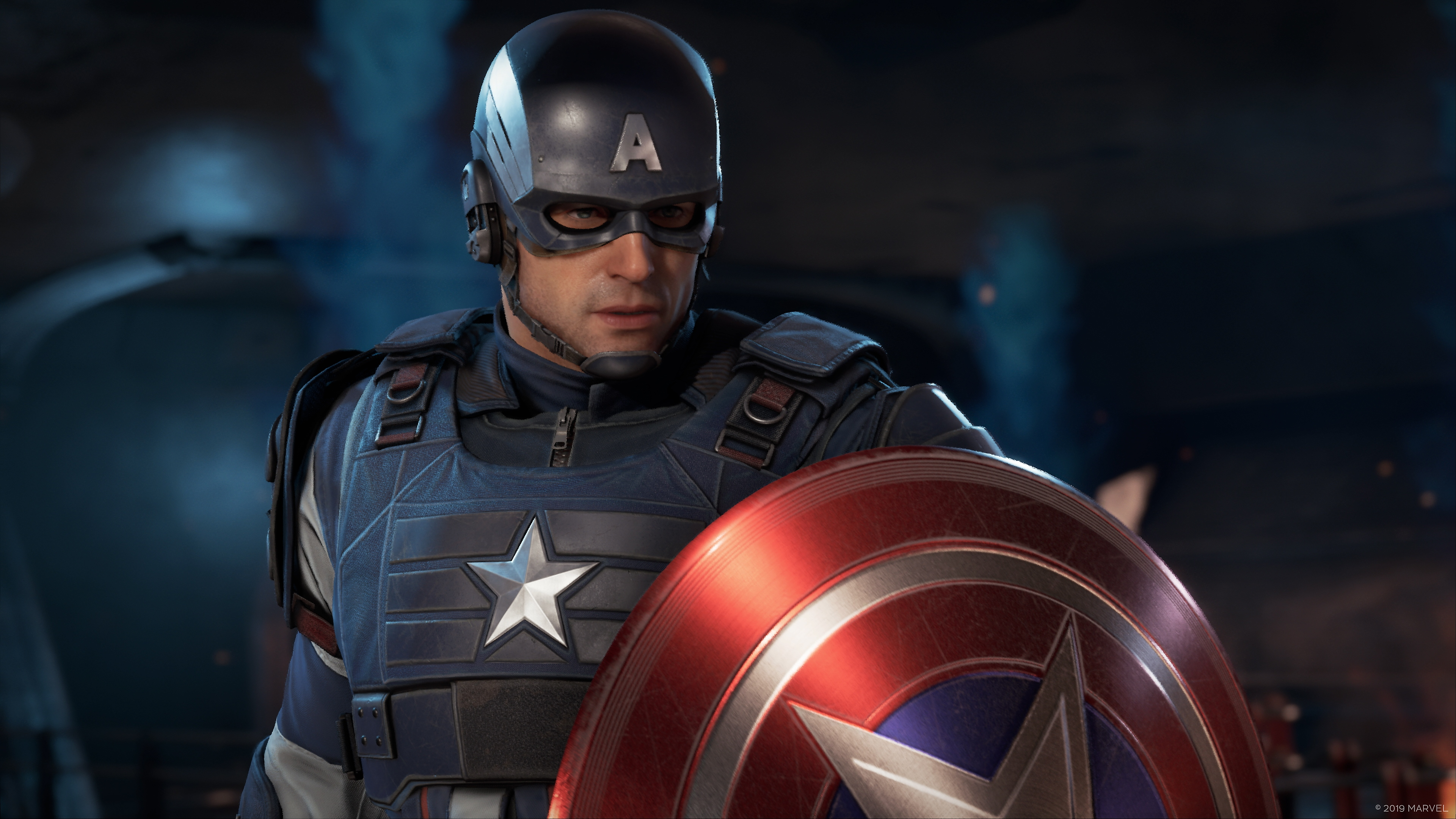 Marvel's Avengers - Key Features Captain America Screenshot