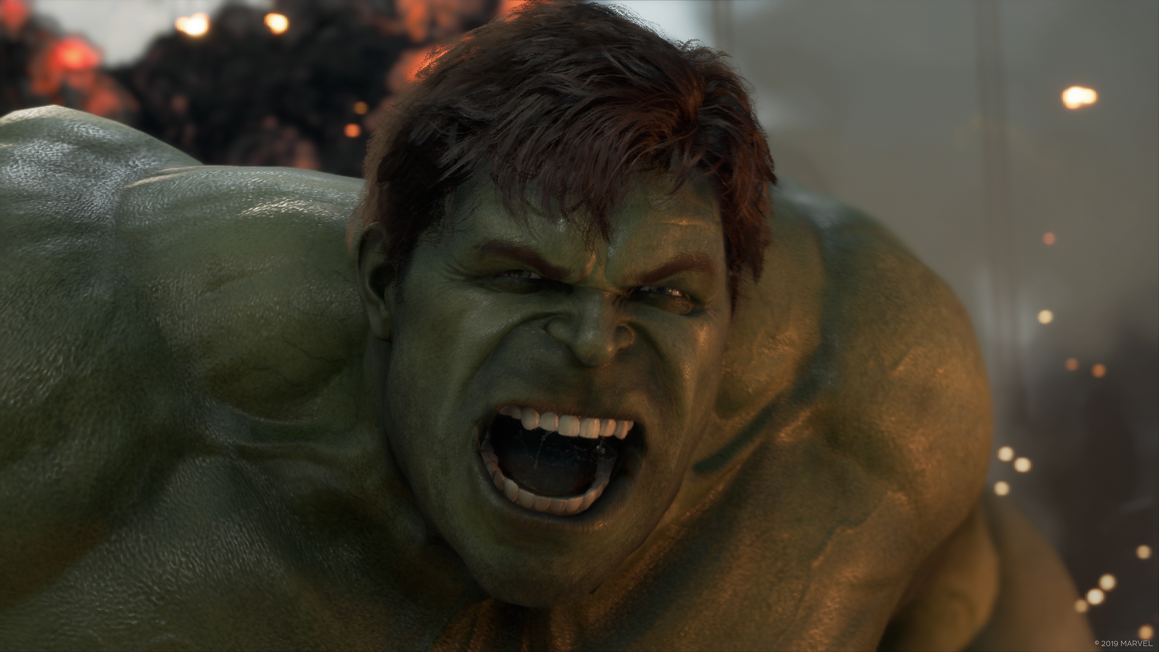 Marvel's Avengers - Key Features Incredible Hulk Screenshot