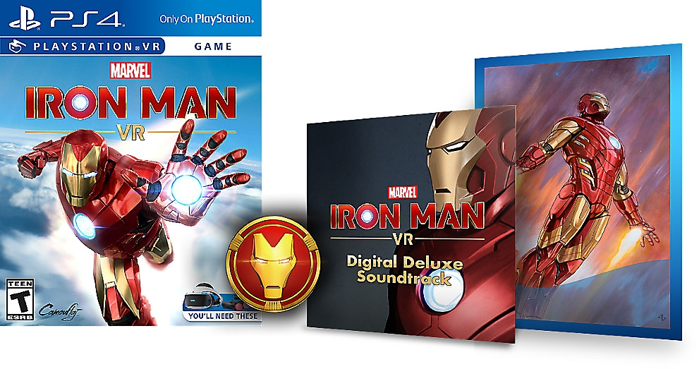 marvel's iron man vr digital deluxe edition