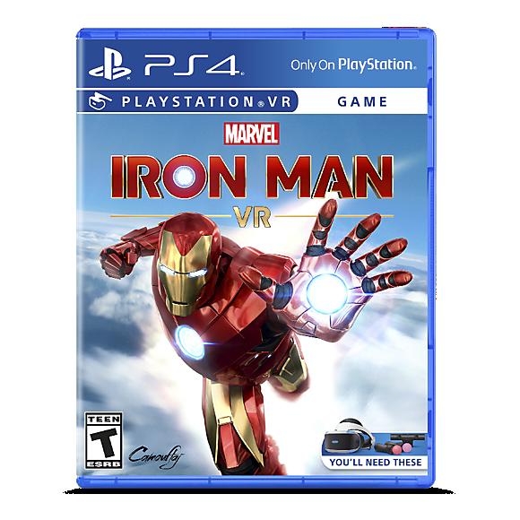 marvel's iron man vr blu ray