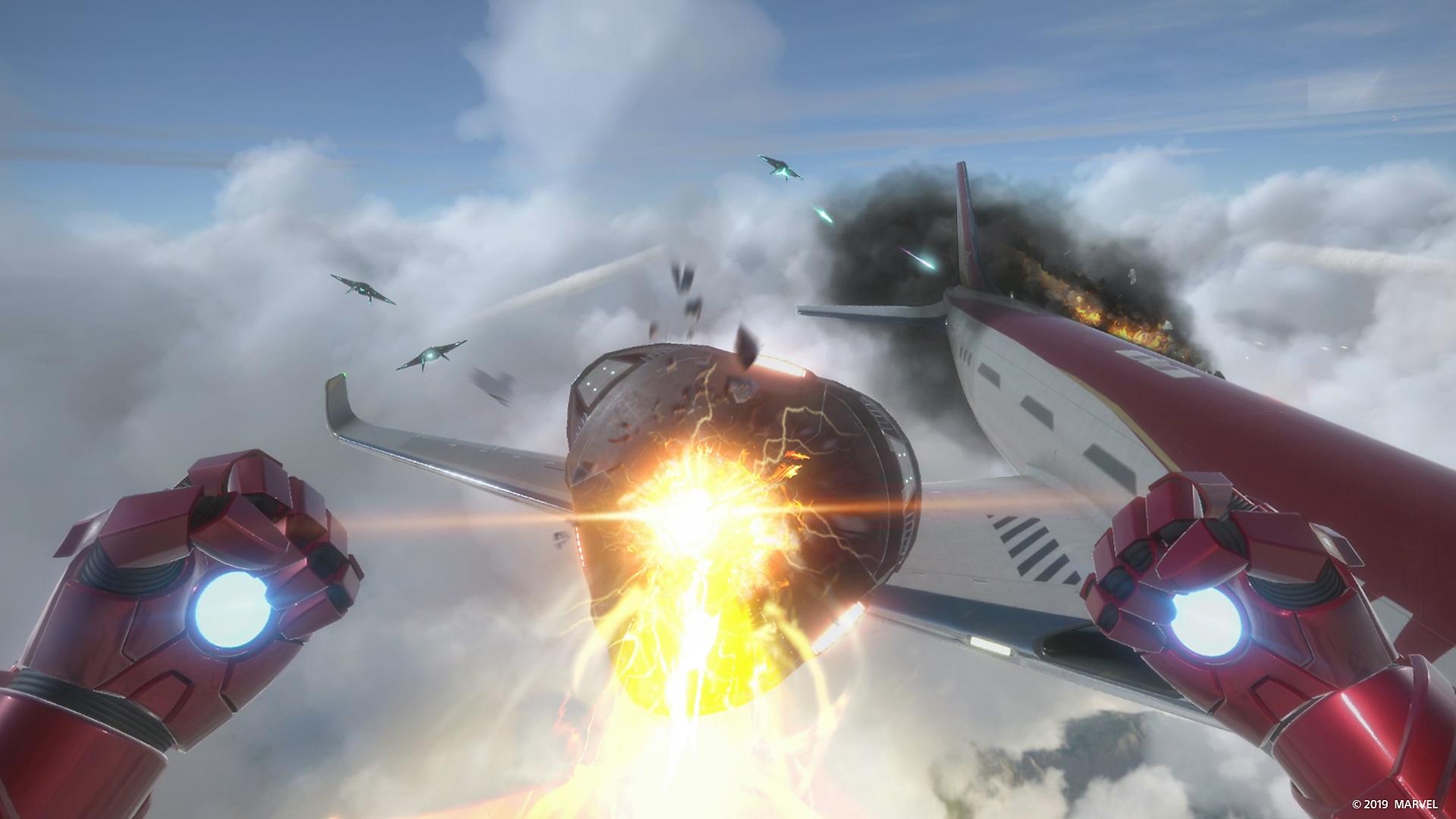 Marvel Iron Man VR Screenshot 1