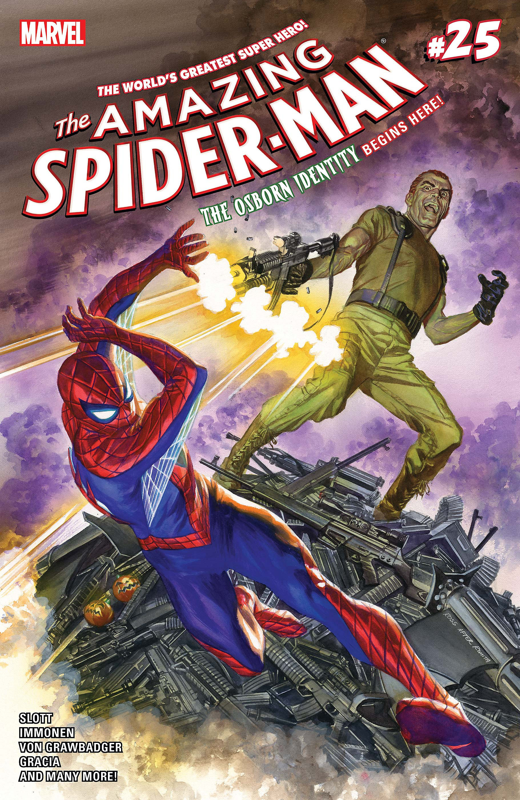 spider-man silver lining reading list comic