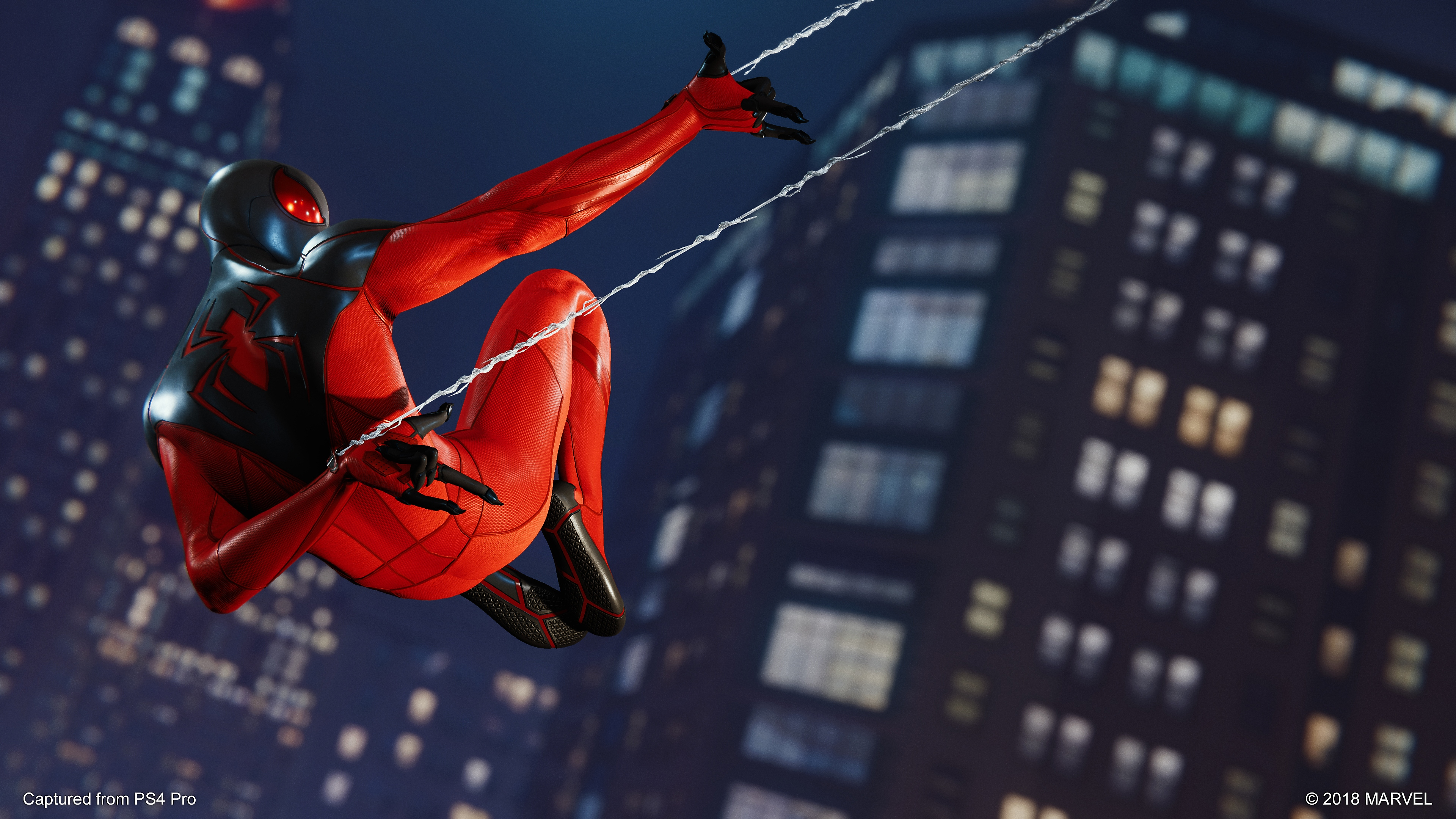 captura de pantalla spider-man ps4