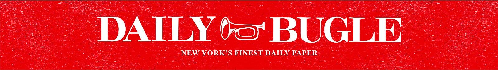 daily bugle - koptekst