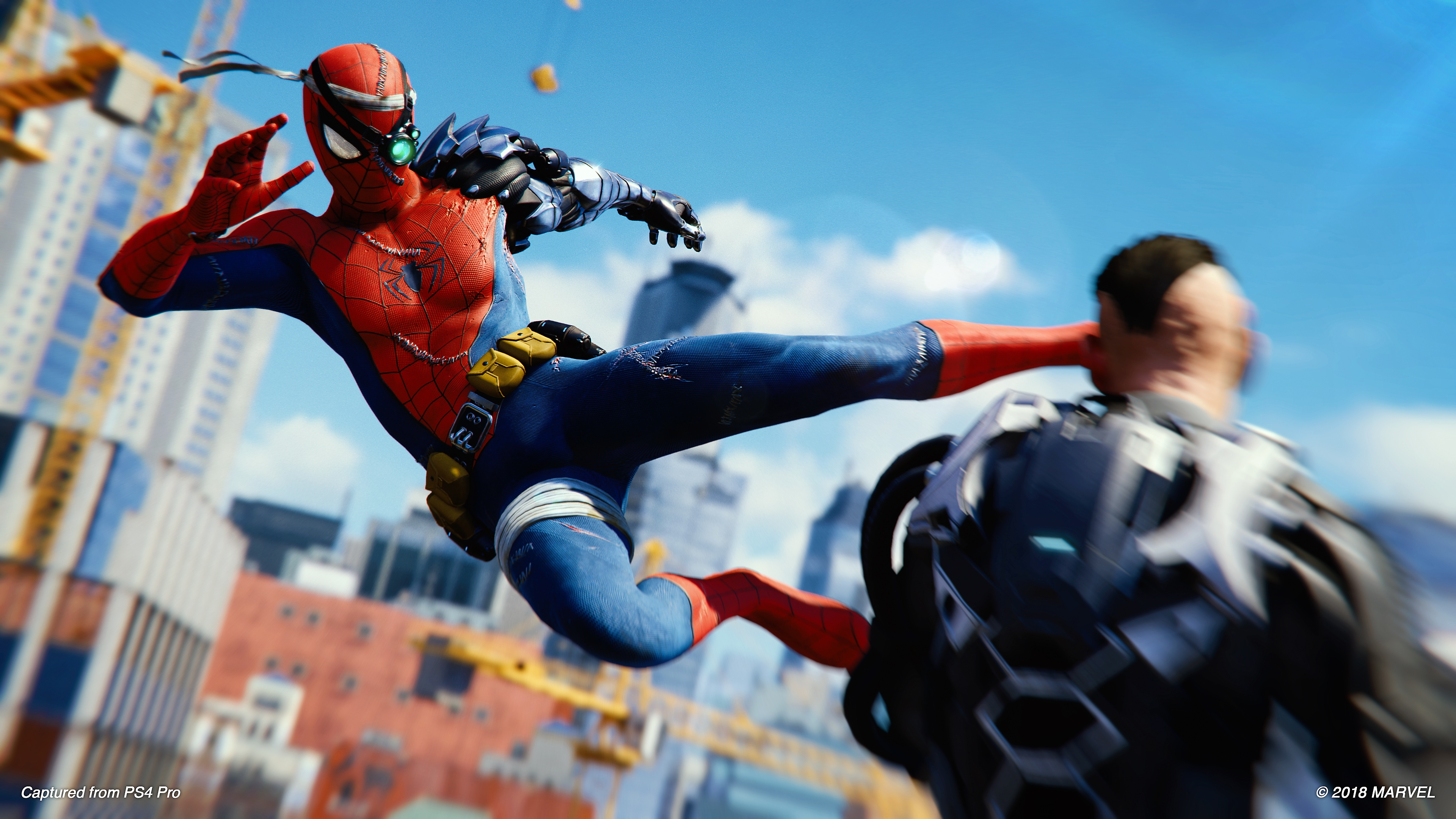 spider-man - ps4 - silver lining