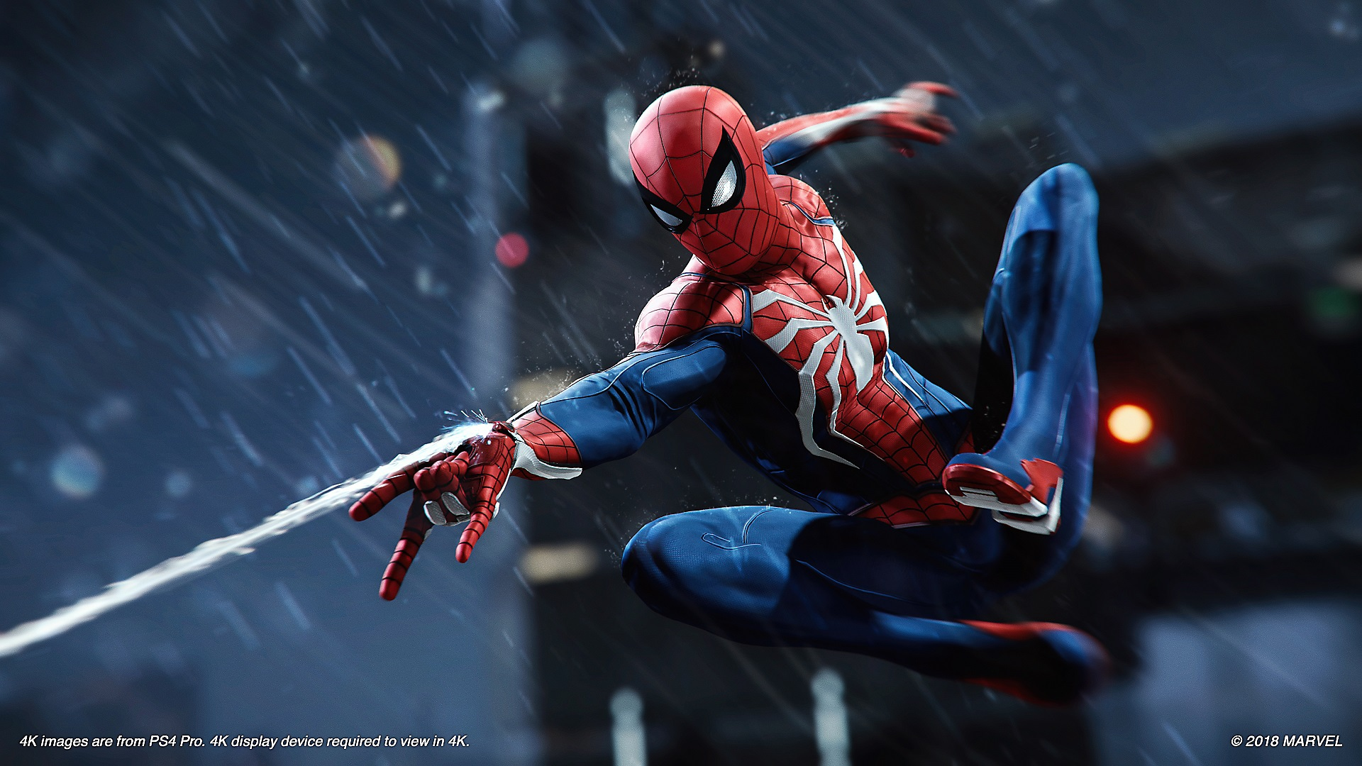 marvel's spider-man – captură de ecran