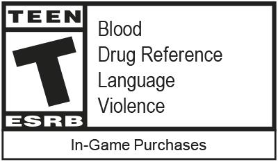 ESRB: Teen