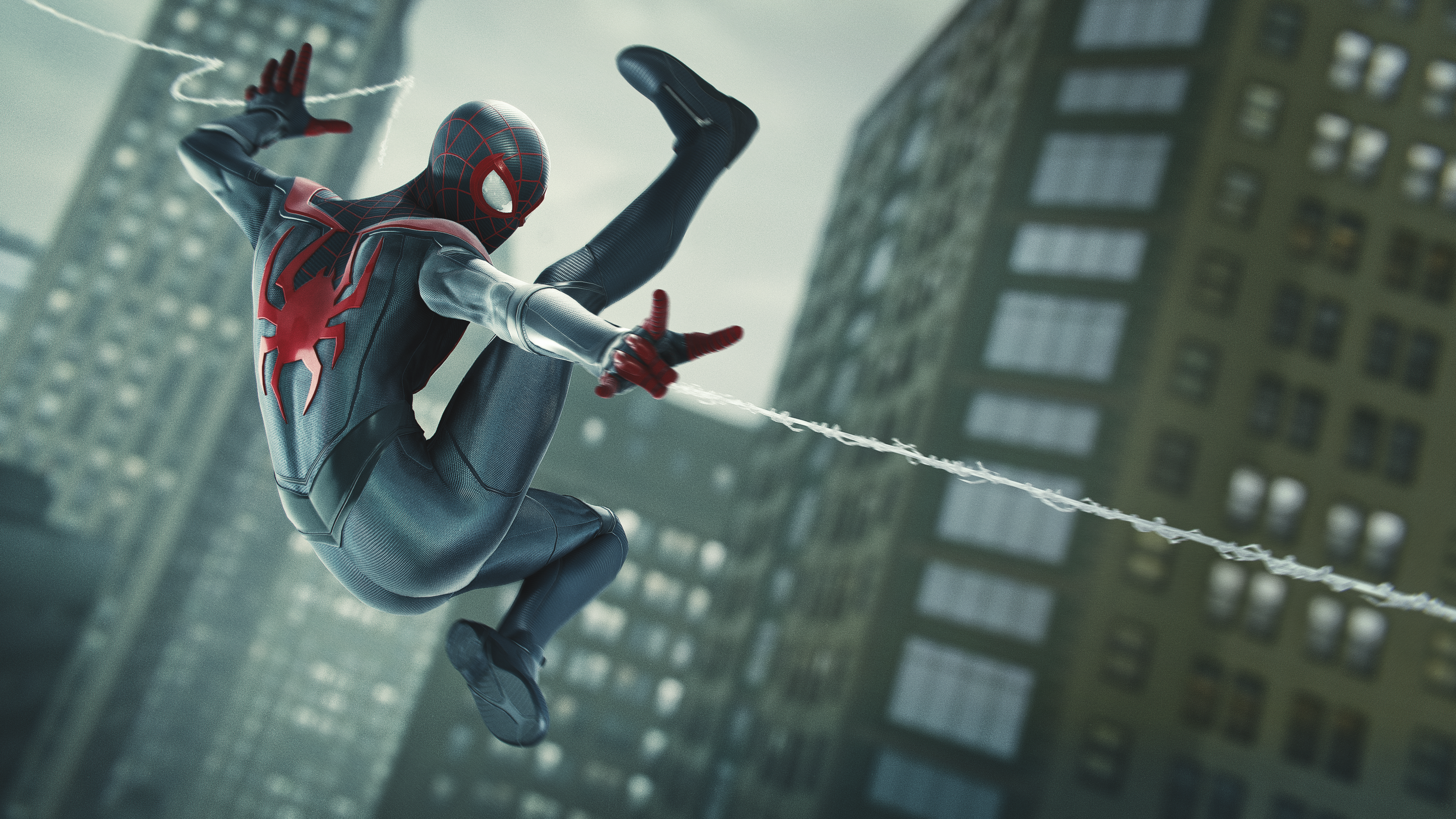 "Marvel's Spider-Man: Miles Morales - Daily Bugle ""NYC's Youthful Glow"" Screenshot"