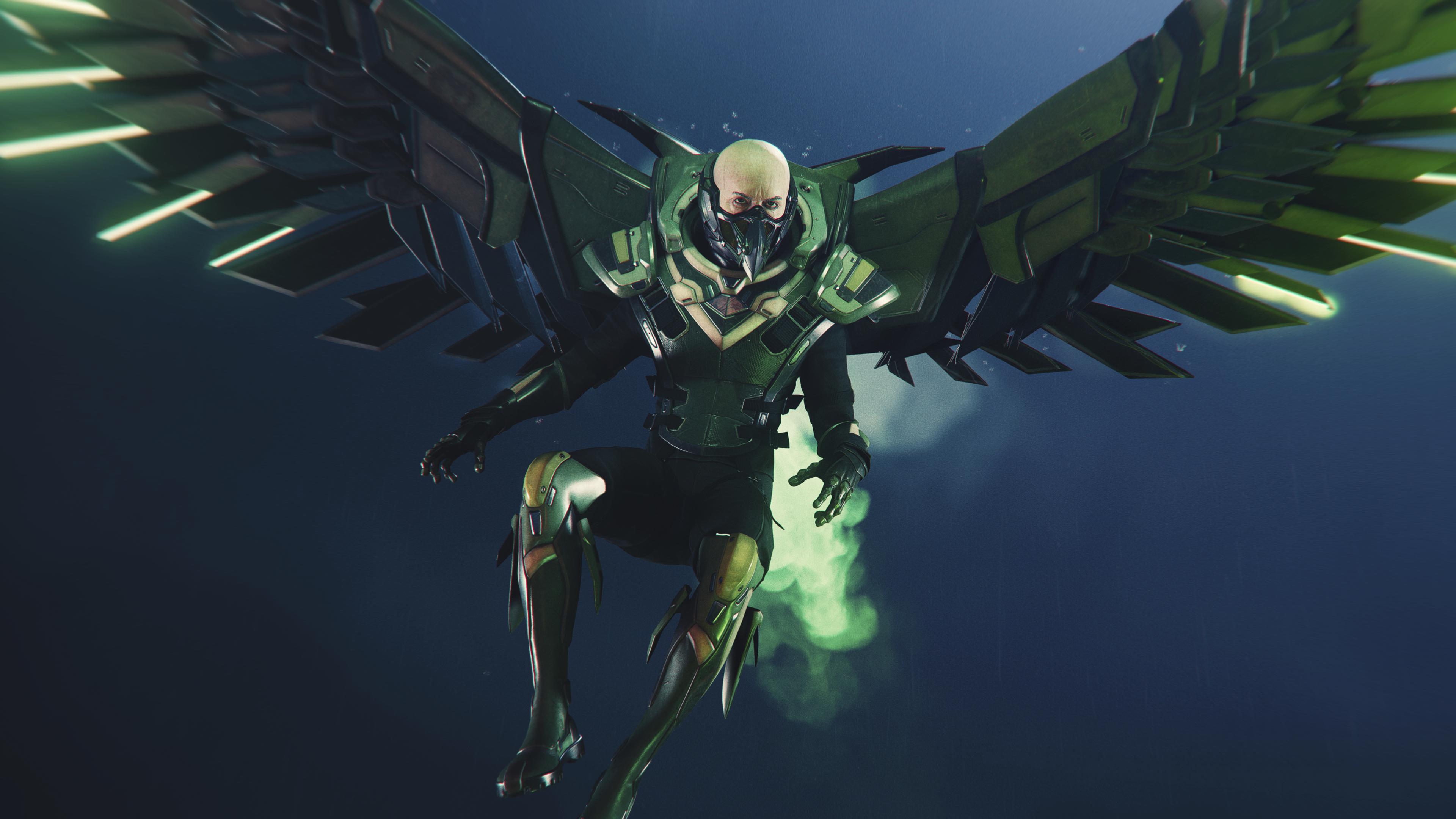 لعبة سبايدرمان من مارفل: مايلز مورالز - دايلي بوغل ينصب العنكبوت الشرك للطائر