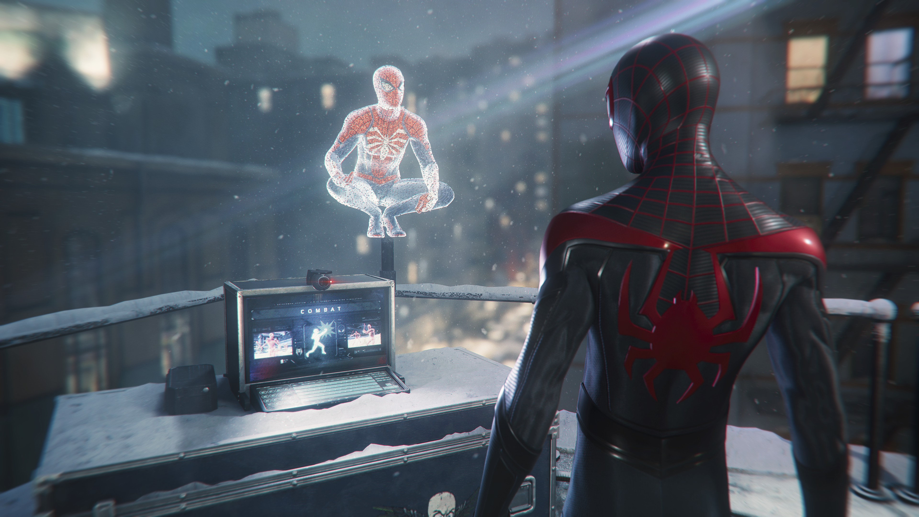 "Marvel's Spider-Man: Miles Morales - Daily Bugle ""From Spider-Man to Spider-Men"" Screenshot"