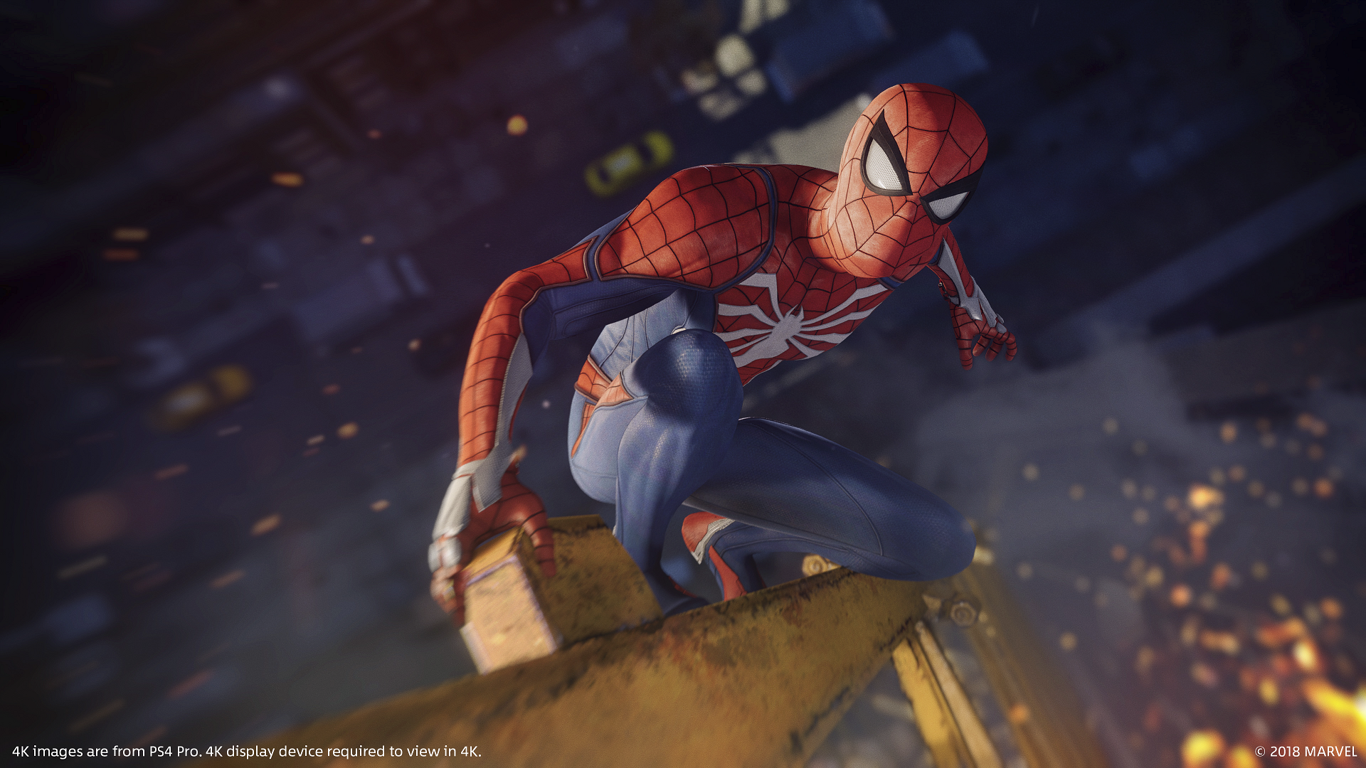 captura de pantalla de marvel's spider-man