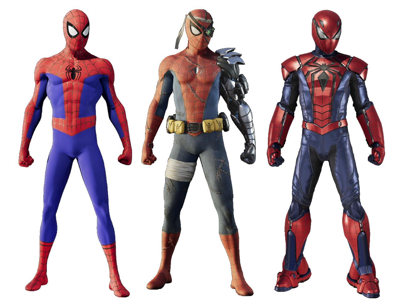 spider-man traje de bonificación silver lining