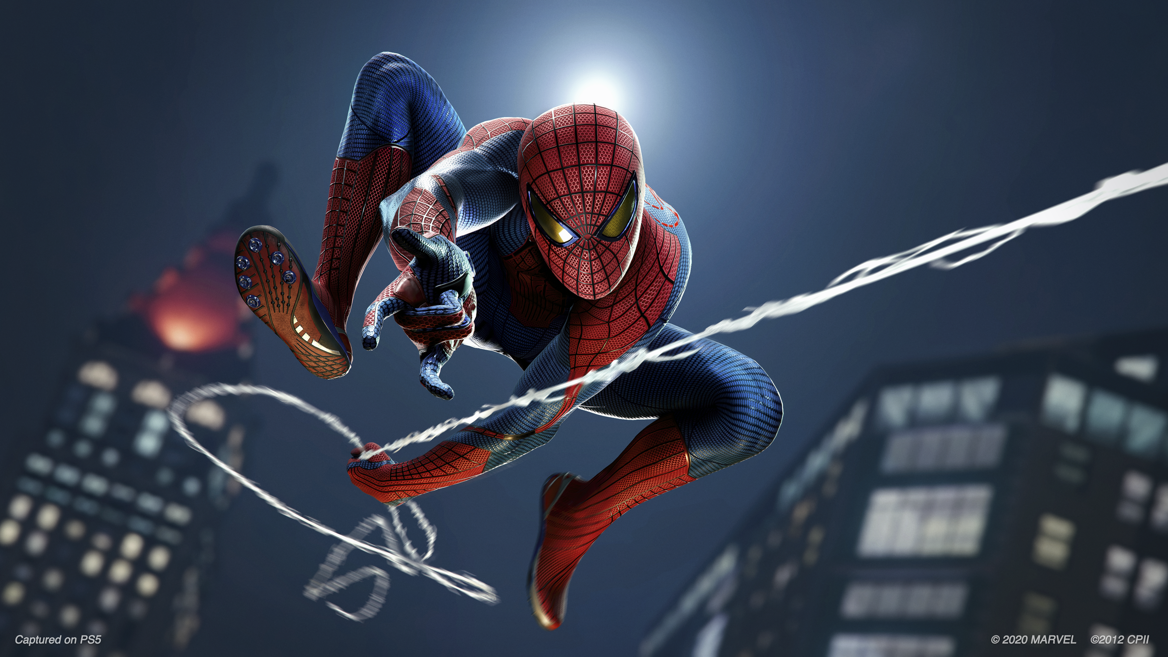 marvel's spiderman remasterizado — captura de ecrã