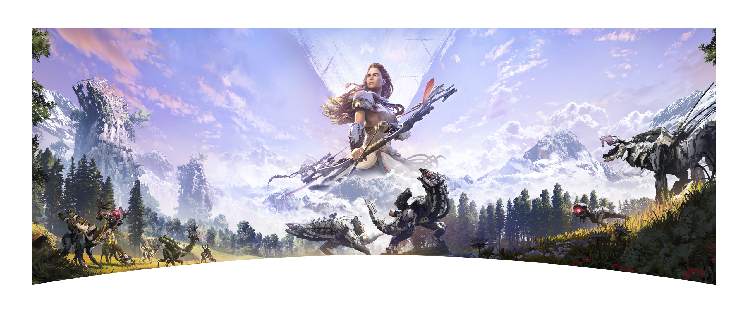 Horizon Zero Dawn keyart