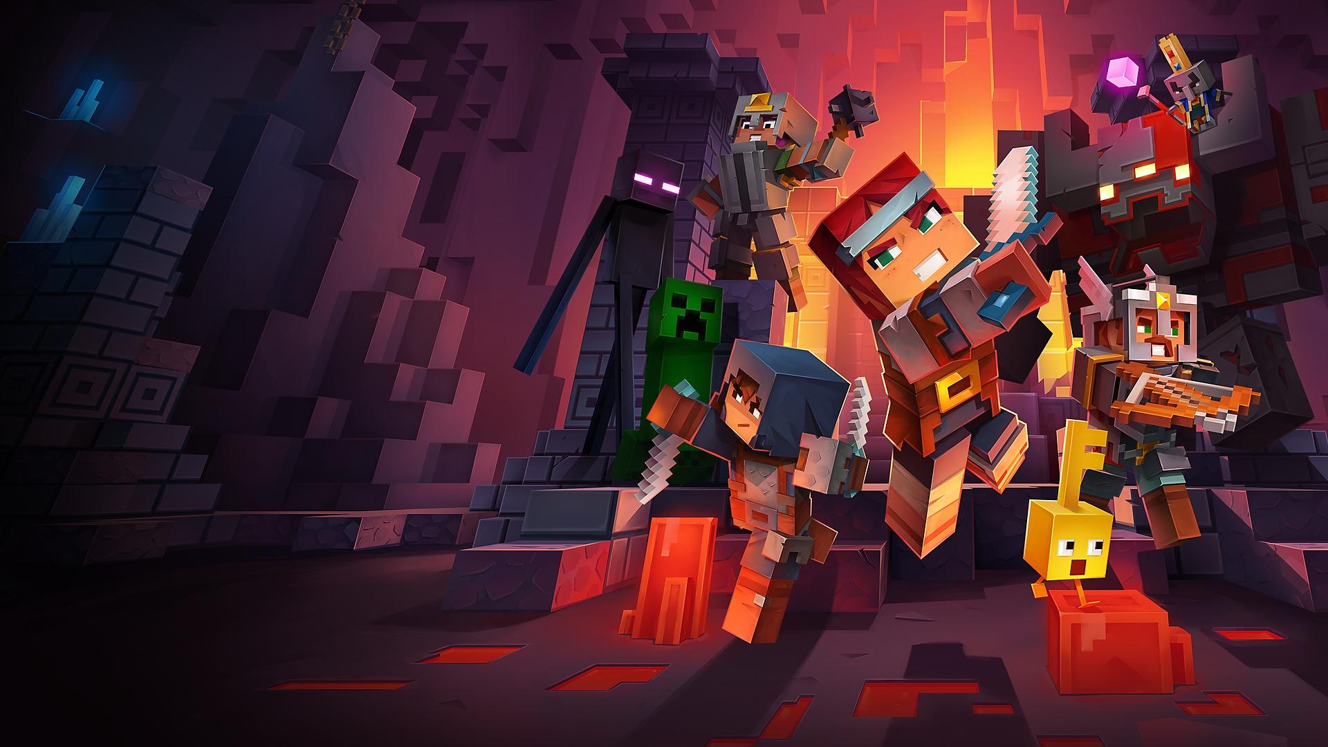 العرض التشويقي لتجربة لعب Minecraft Dungeons