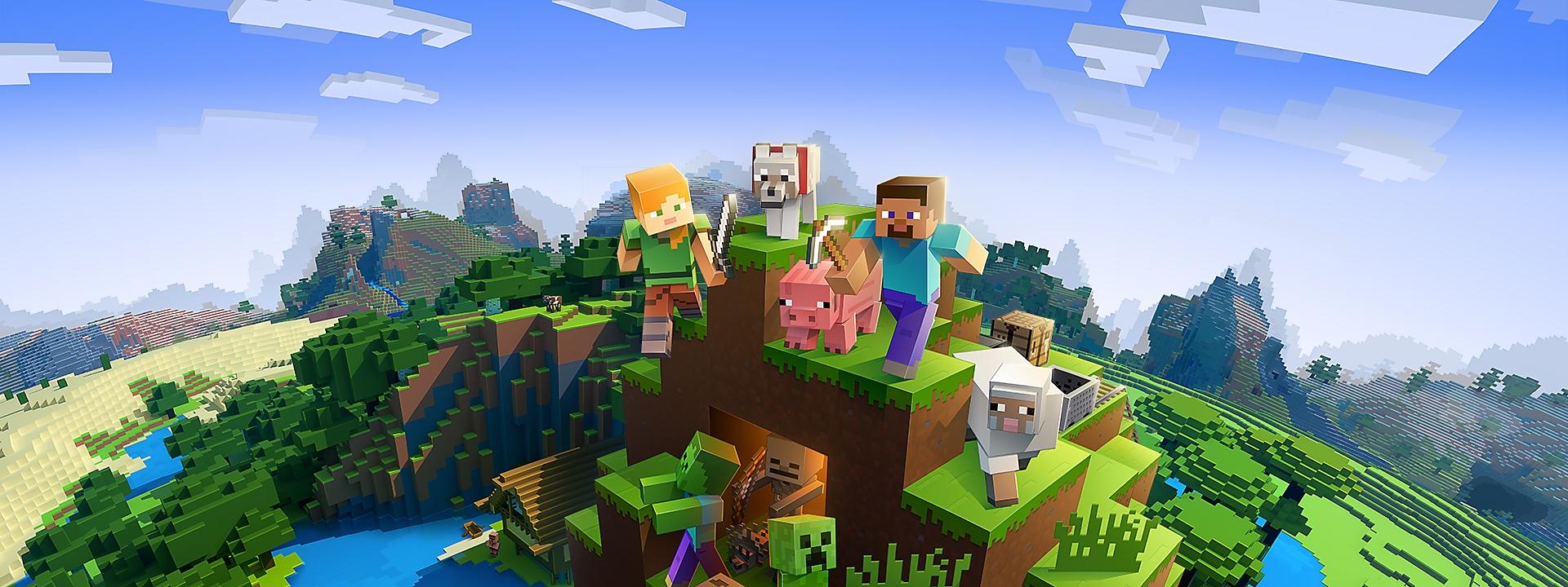 Minecraft – hjältebild
