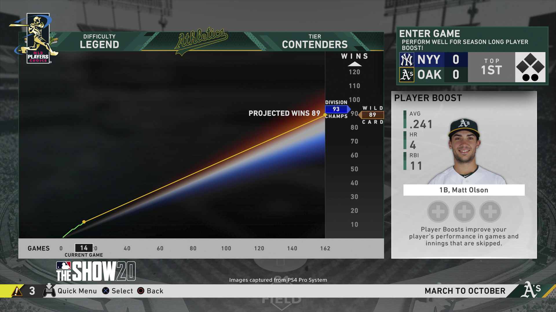 MLB The Show 20 Screenshot