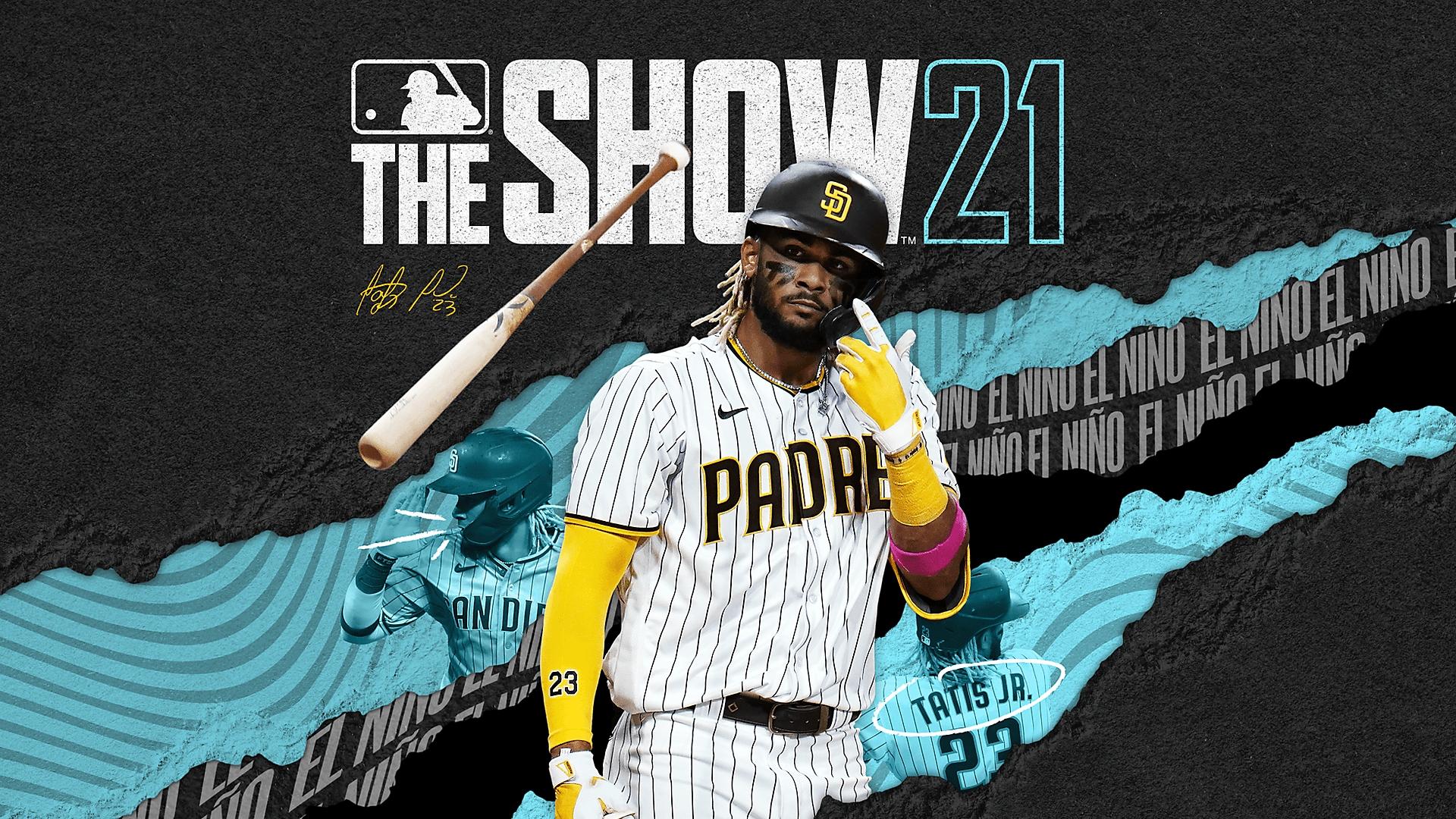 MLB: The Show 21 key art