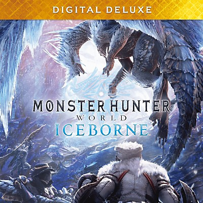 إصدار Deluxe الرقمي للعبة Monster Hunter World Iceborne