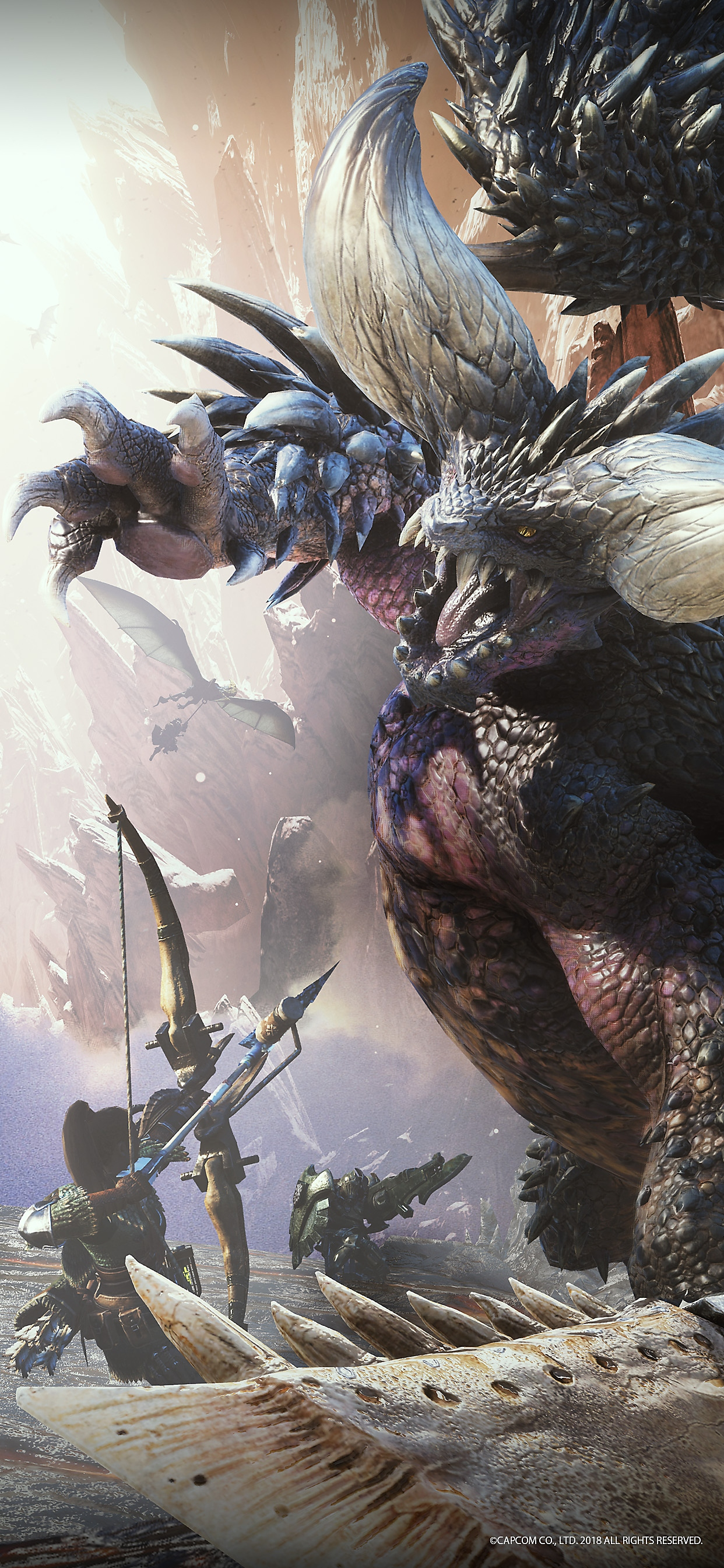 Monster Hunter World fondo de pantalla de móvil
