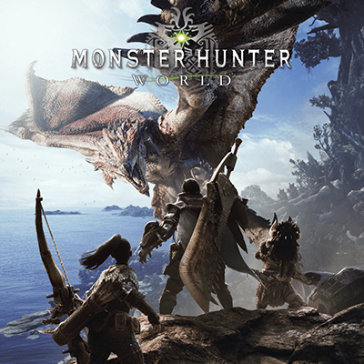 إصدار Standard للعبة Monster Hunter World
