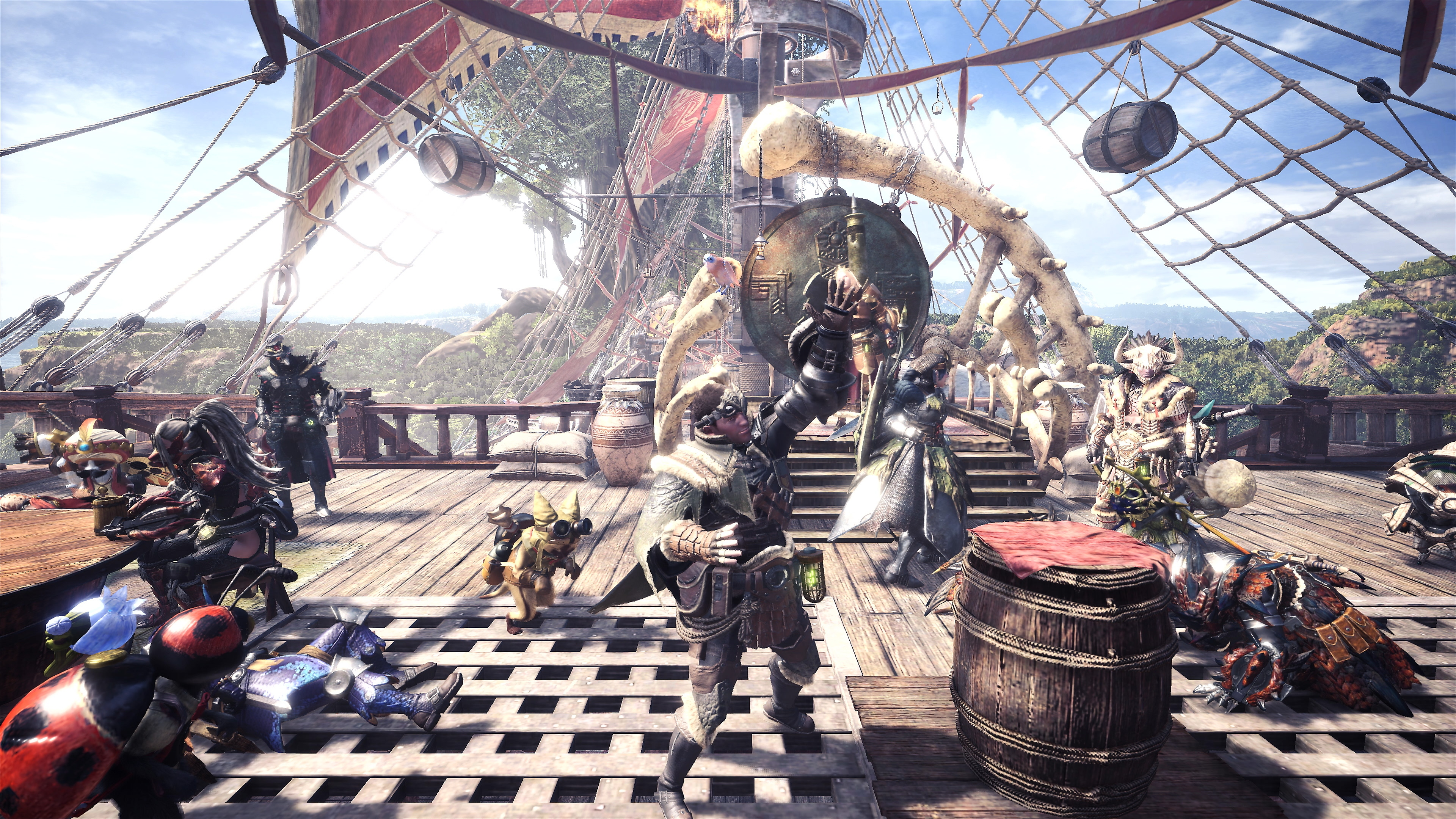 Monster Hunter World Captura de pantalla 1