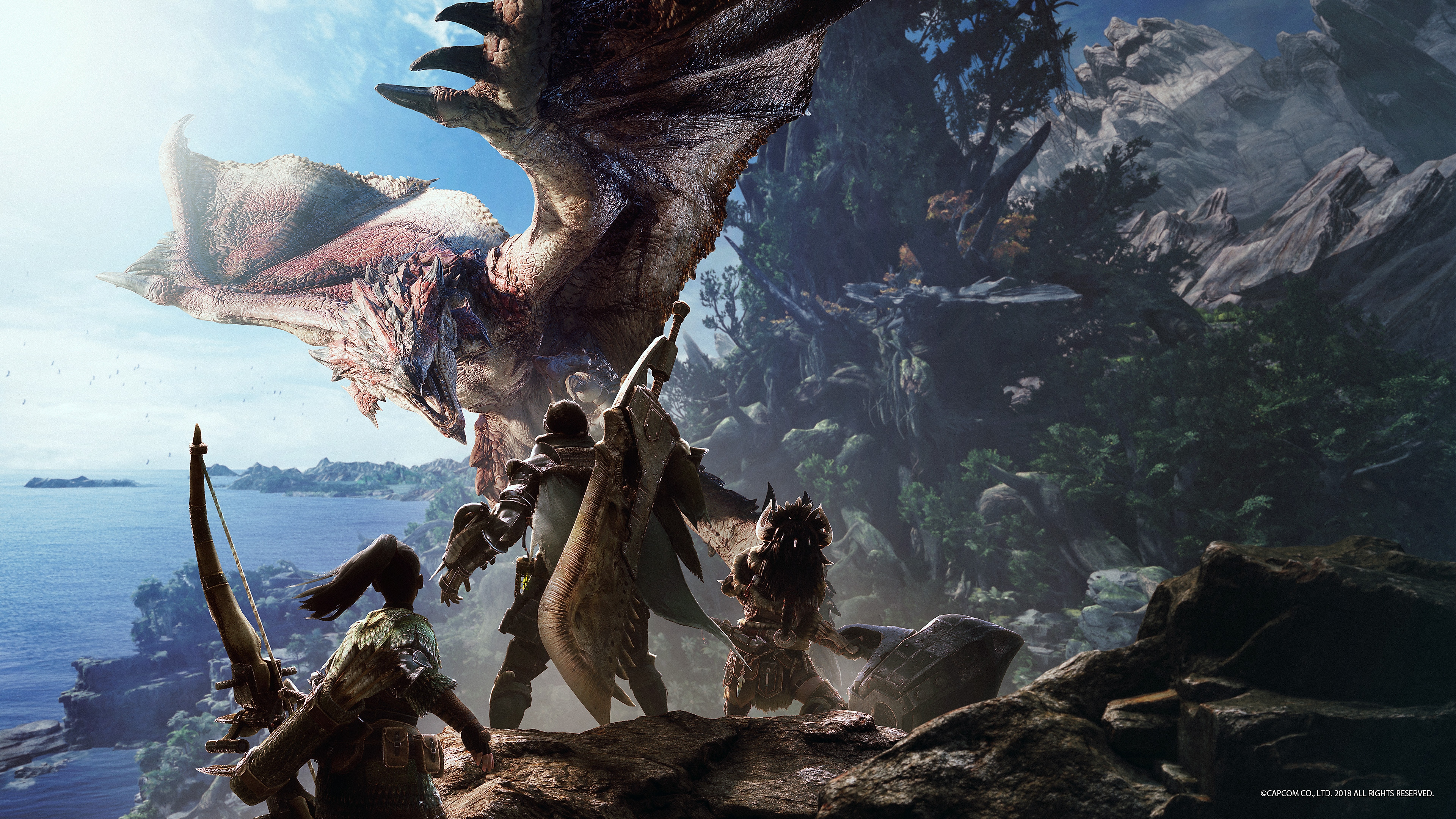 Monster Hunter World fondo de pantalla de escritorio