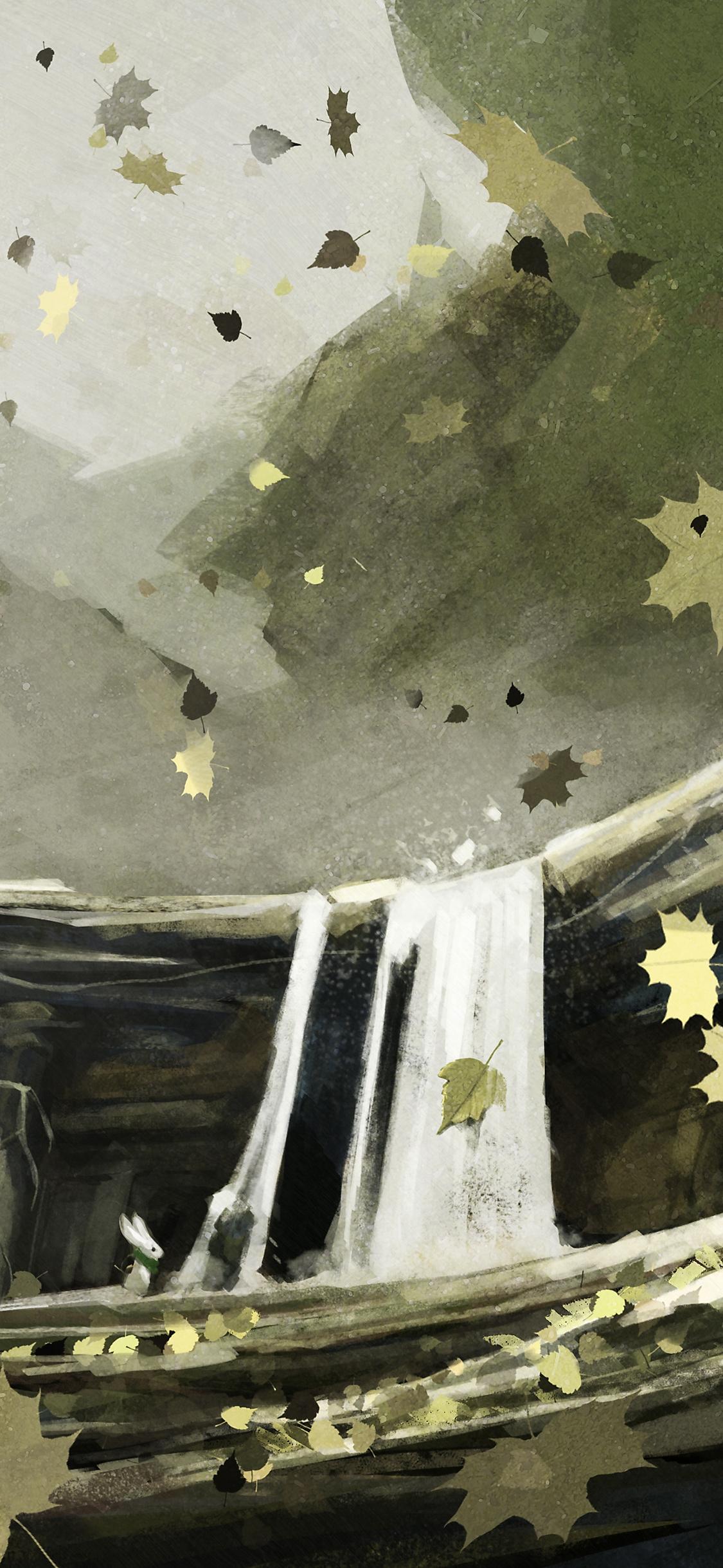 Moss-bakgrundsbild (mobil)