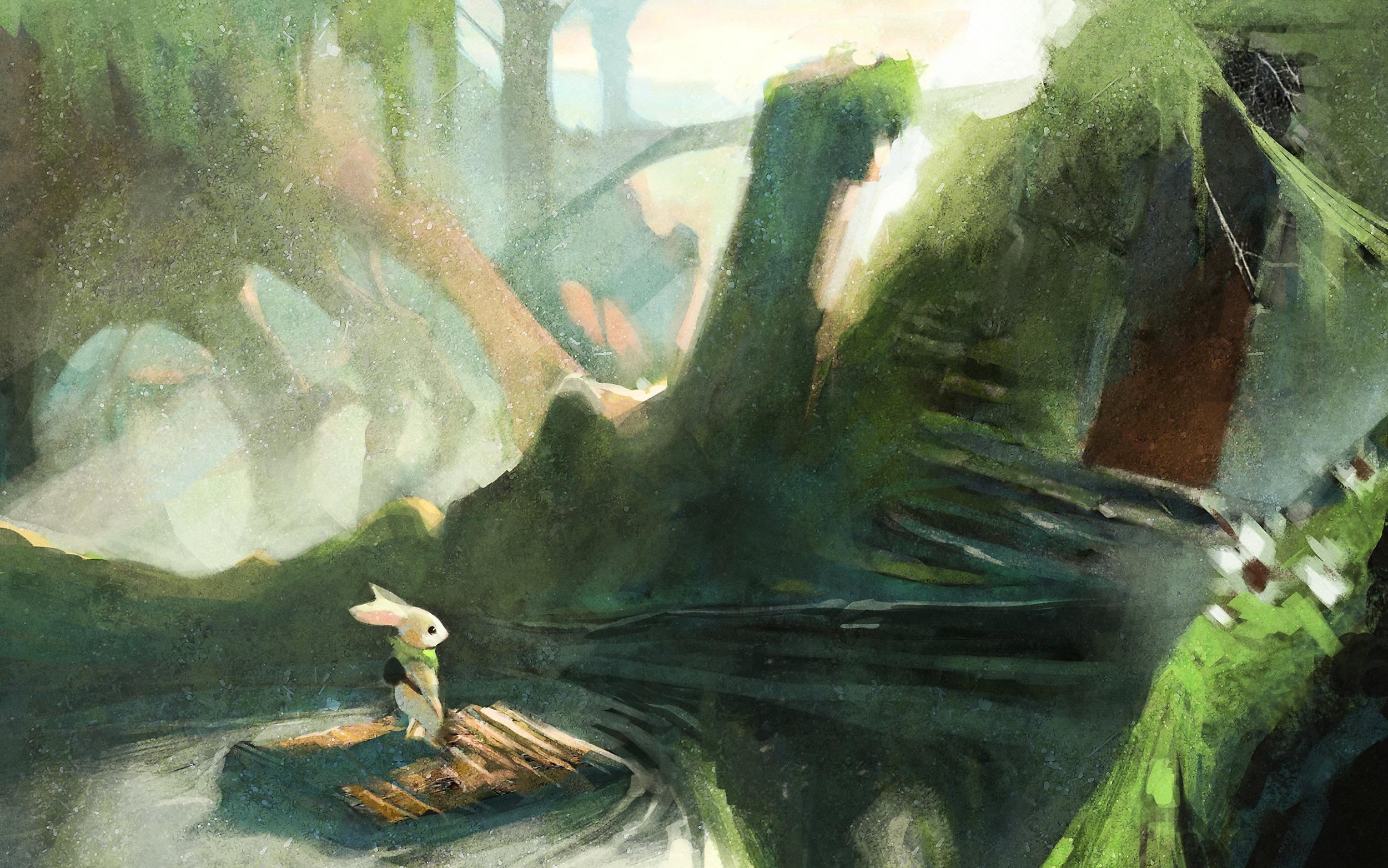 Moss-bakgrundsbild (dator)