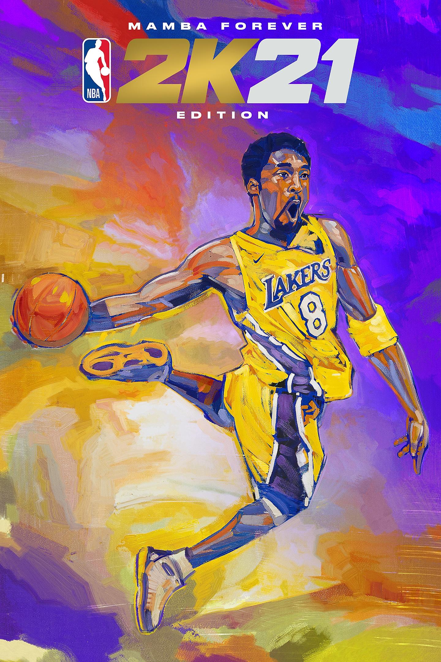 NBA 2K21 - Mamba Forever Edition Box Art