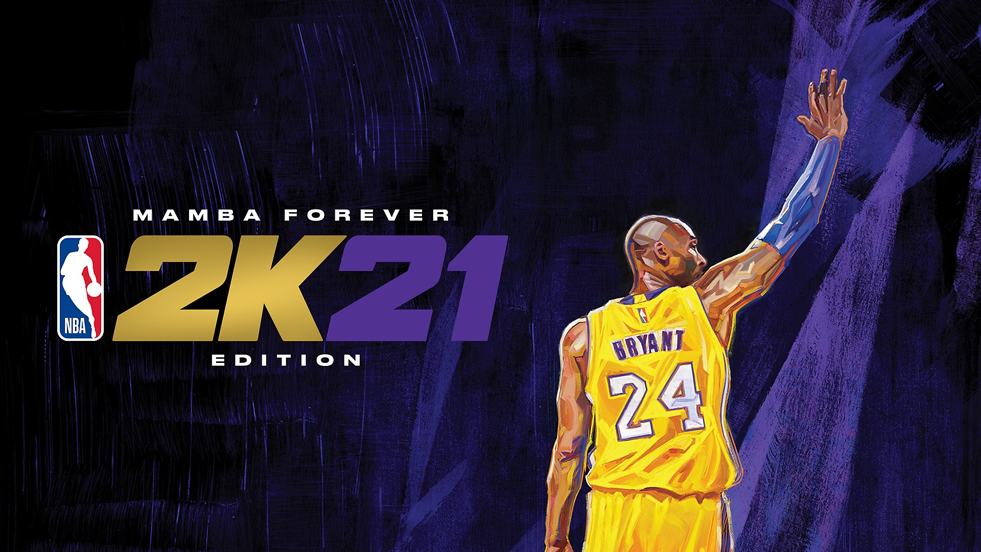 NBA 2K21 Mamba Edition key art