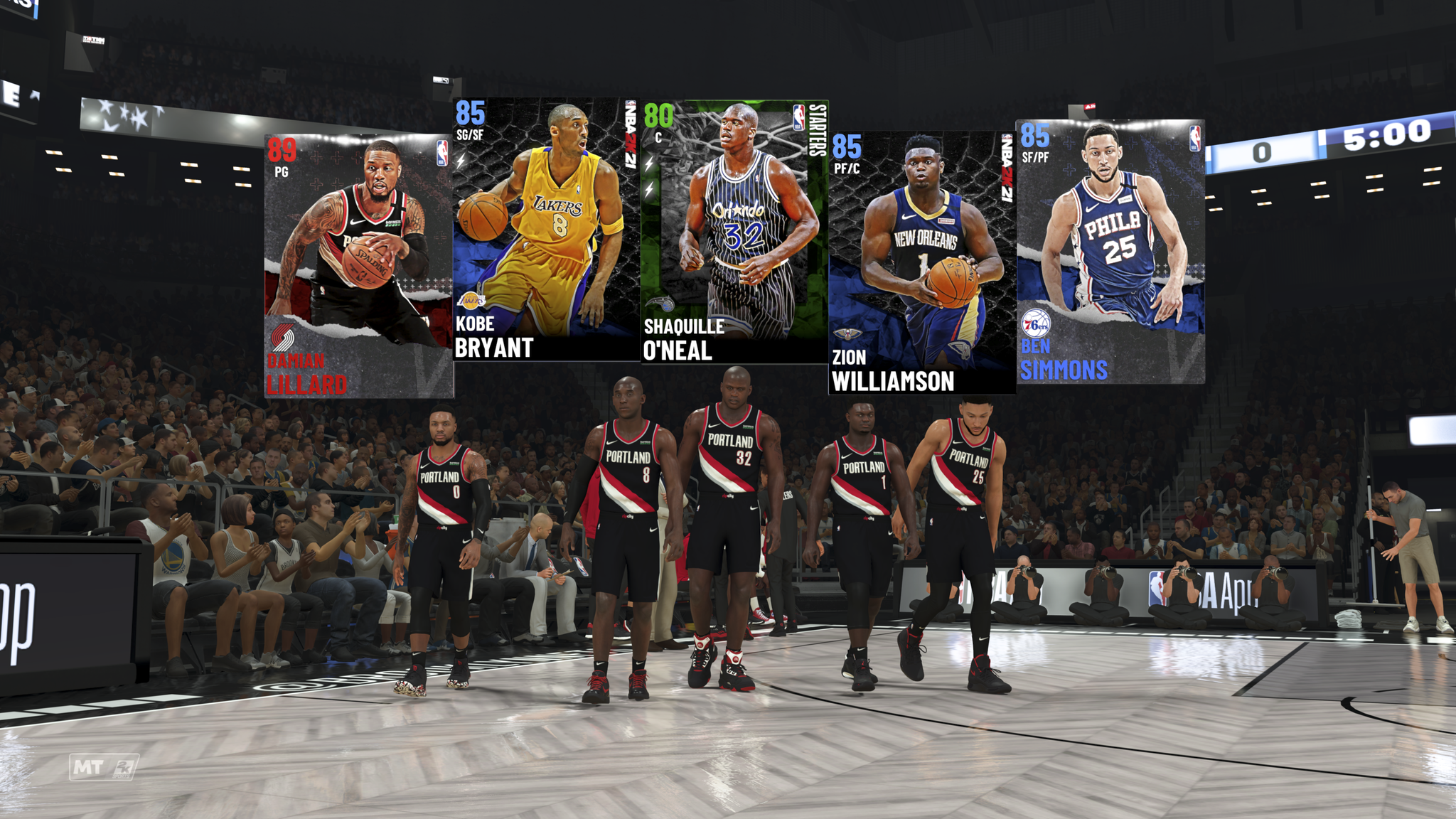 NBA 2K21 - MyTeam Screenshot