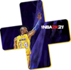 NBA 2K21 – PlayStation Plus logo Kobe