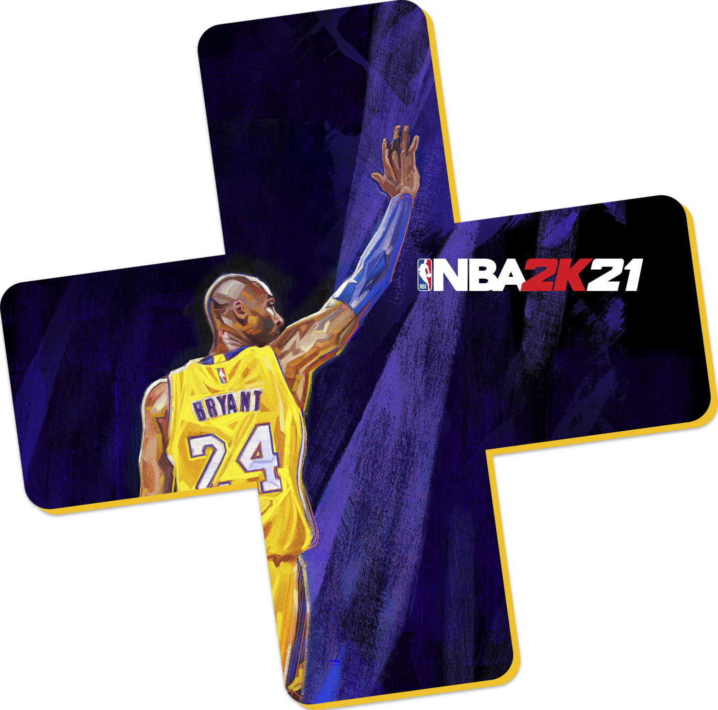 NBA 2K21 - PlayStation Plus Logo Kobe