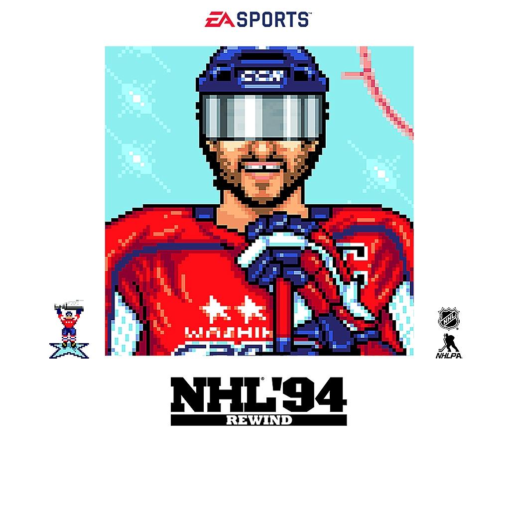 NHL '94 Rewind - Store Art