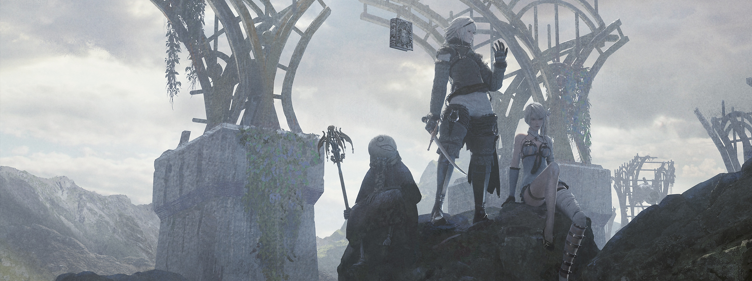 NieR Replicant ver.1.22474487139...   - Key Art