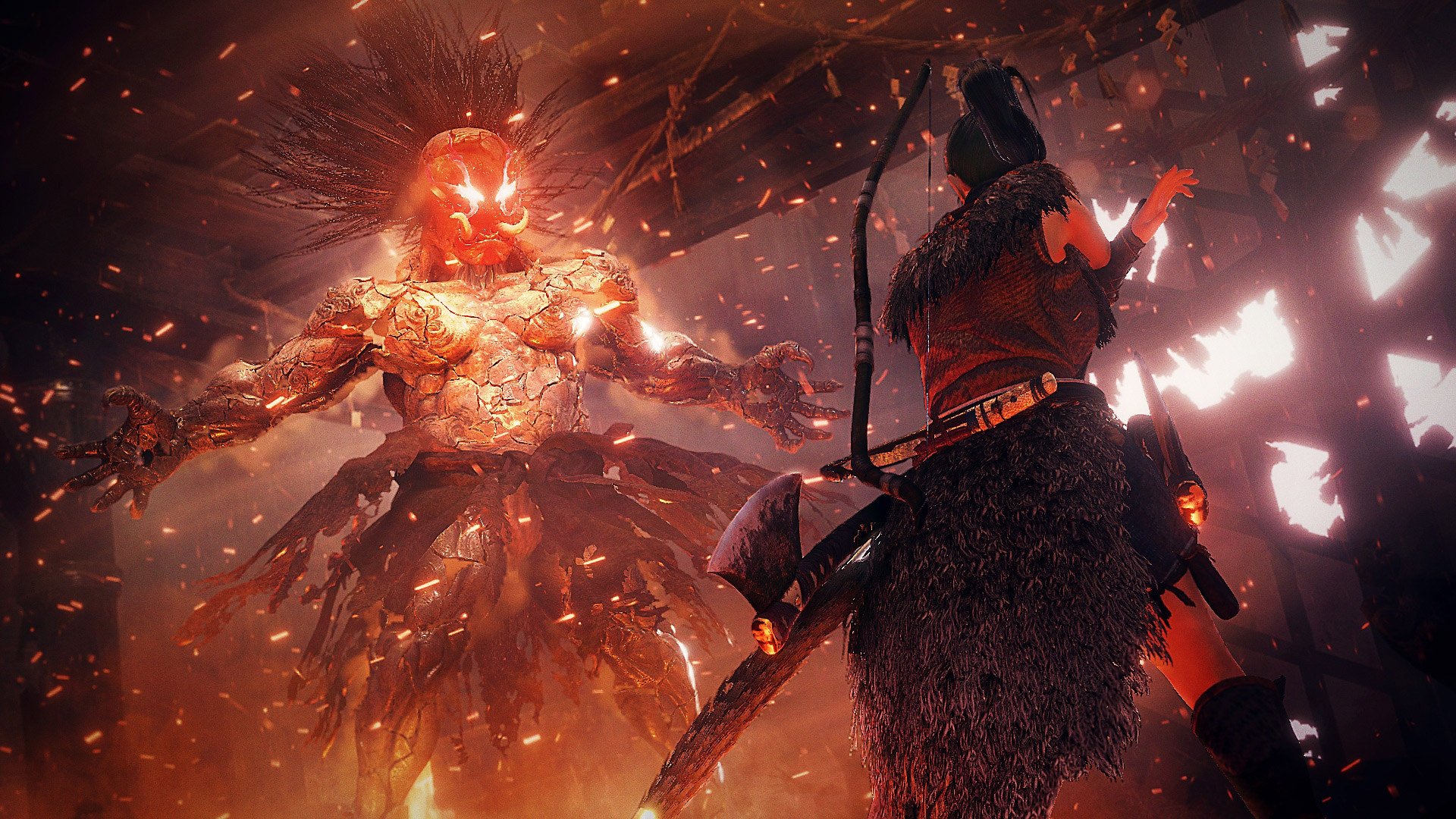 nioh 2 screenshot war and demons