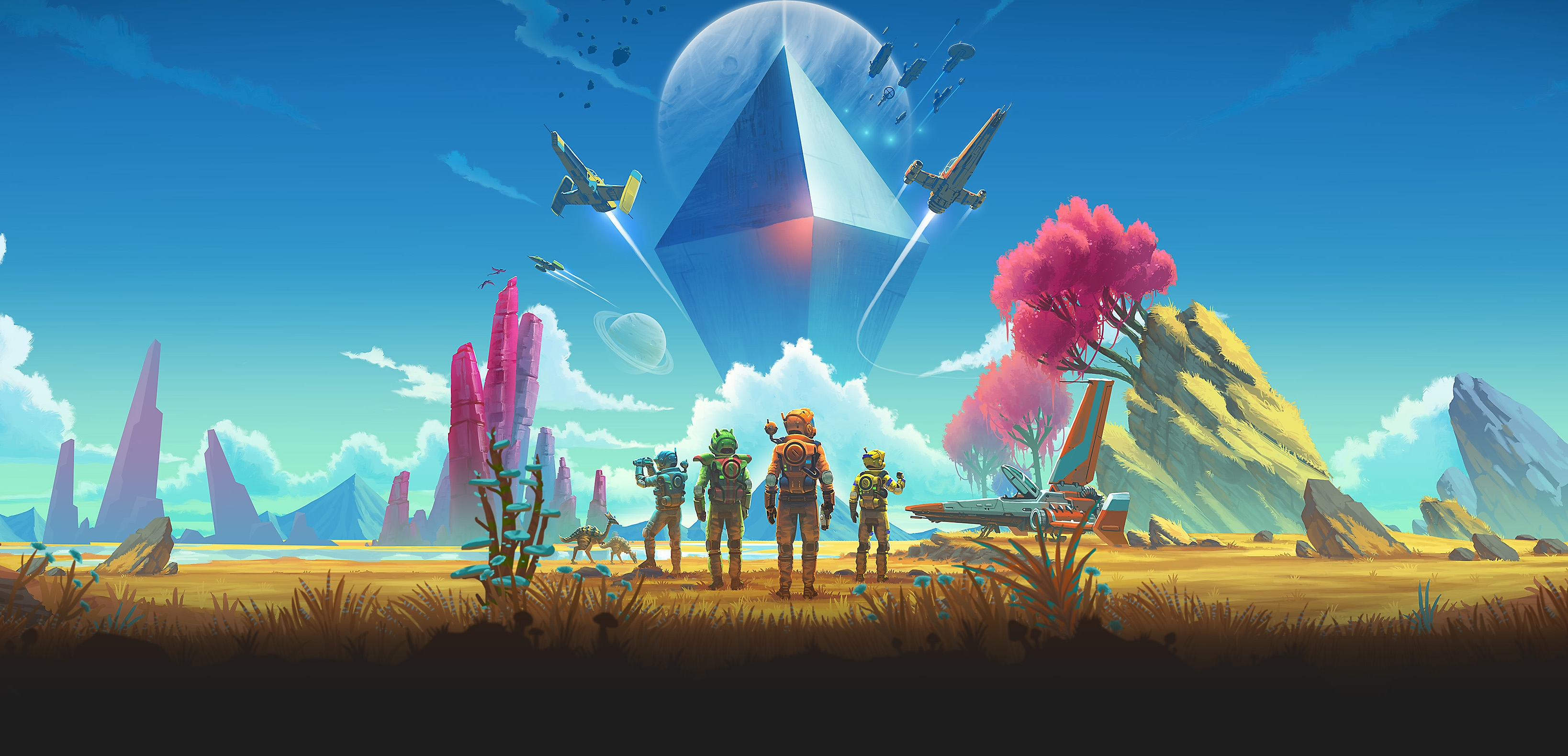 No Man's Sky: arte clave de NEXT
