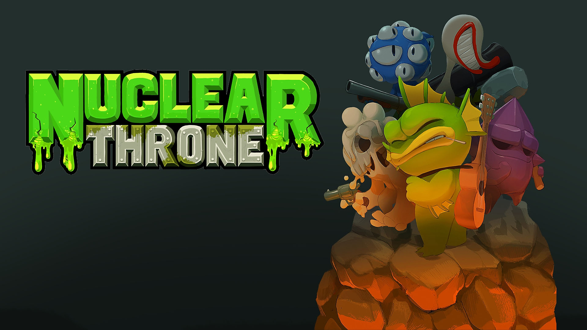 Nuclear Throne key-art