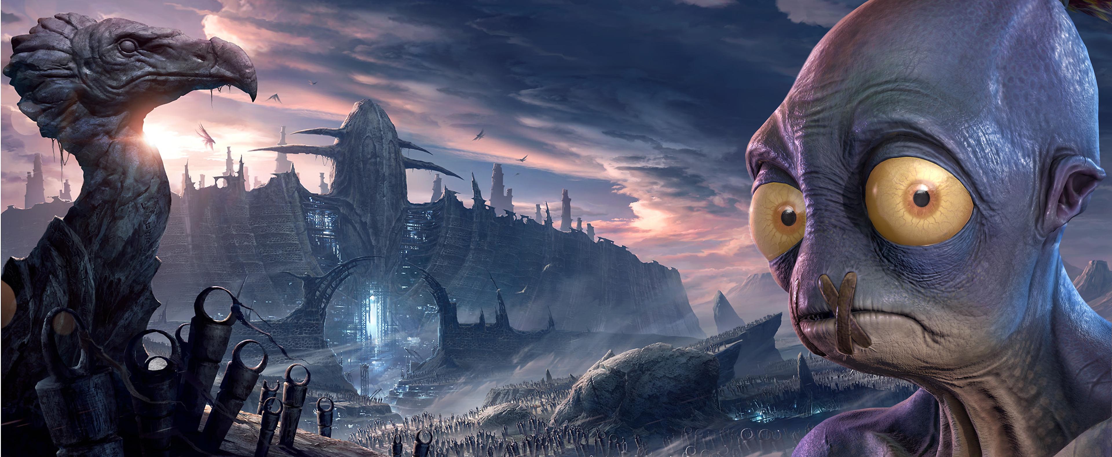 Oddworld Soulstorm - คีย์อาร์ต