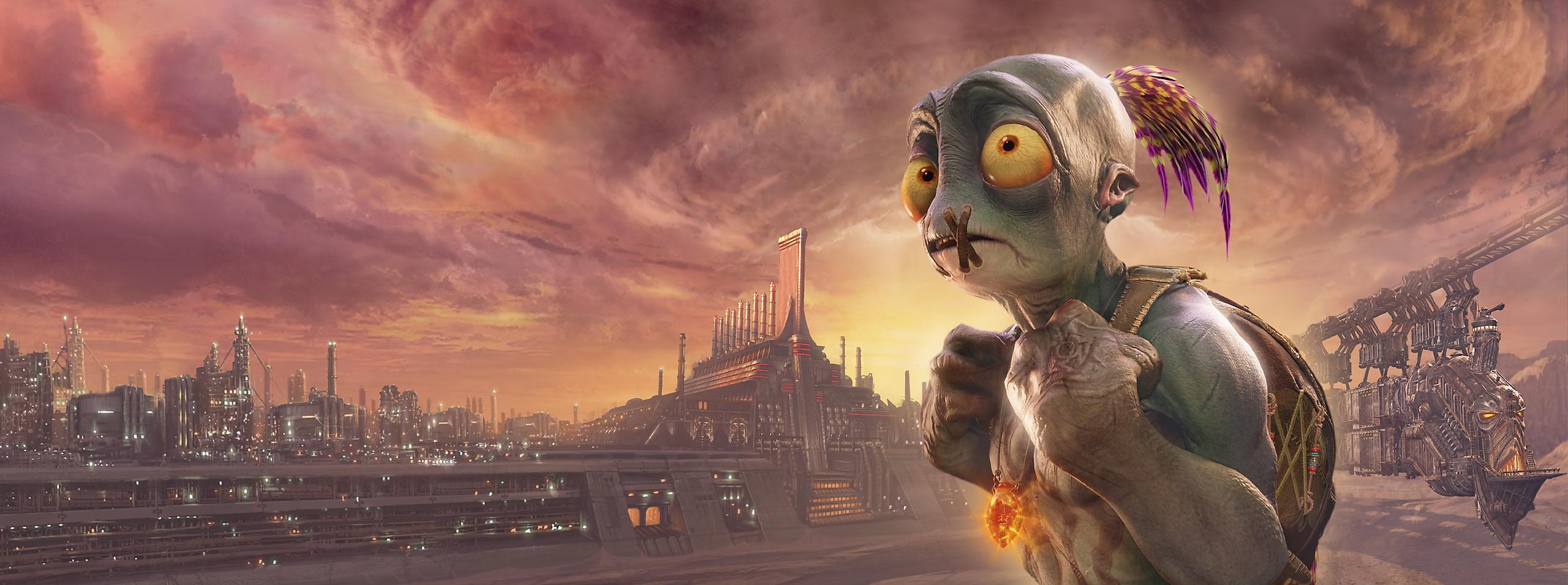 Oddworld: Soulstorm - Key Art