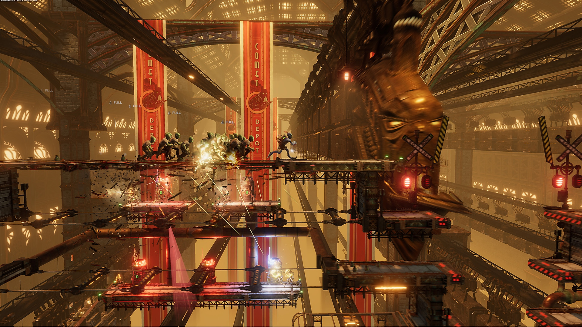 Oddworld Soulstorm - ภาพหน้าจอเปิดตัว